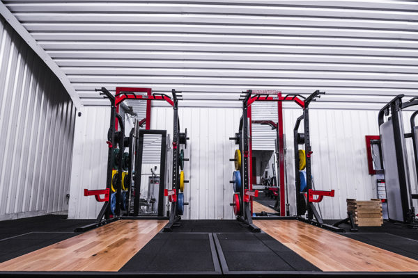 Central Strength Gym fitness equipments, weights rack